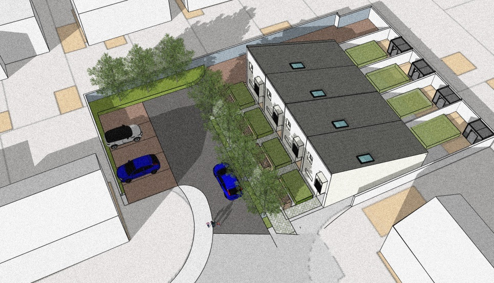The Elm Road plans. Pic: MCC/MHA/Cardiff University