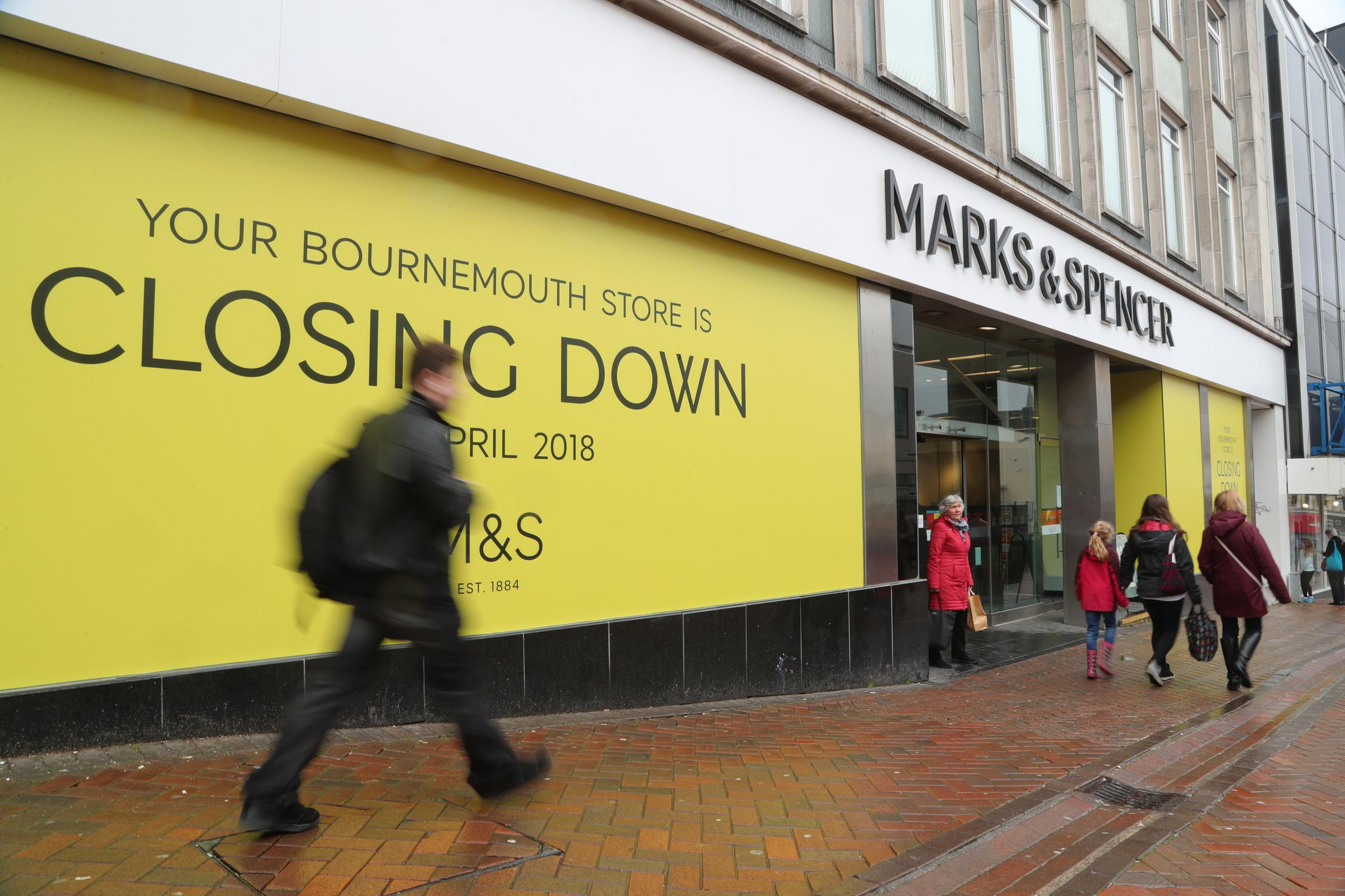 Marks & Spencer look to close more than 100 stores