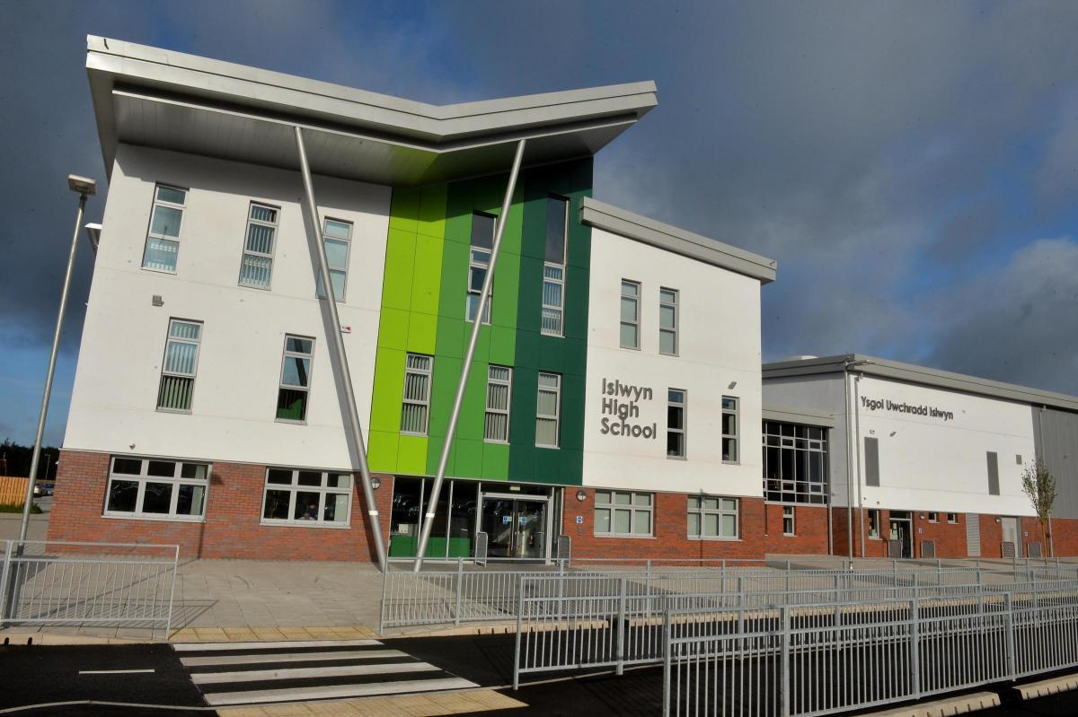 Islwyn High School was built due to funding from the 21st Century Schools programme Picture Chris Tinlsey
