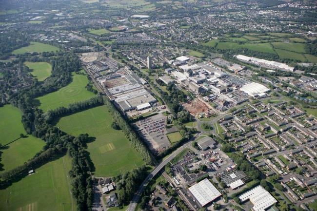 The former Meritor site could be developed to make way for an access road to the site earmarked for the 1,000-place college in Cwmbran