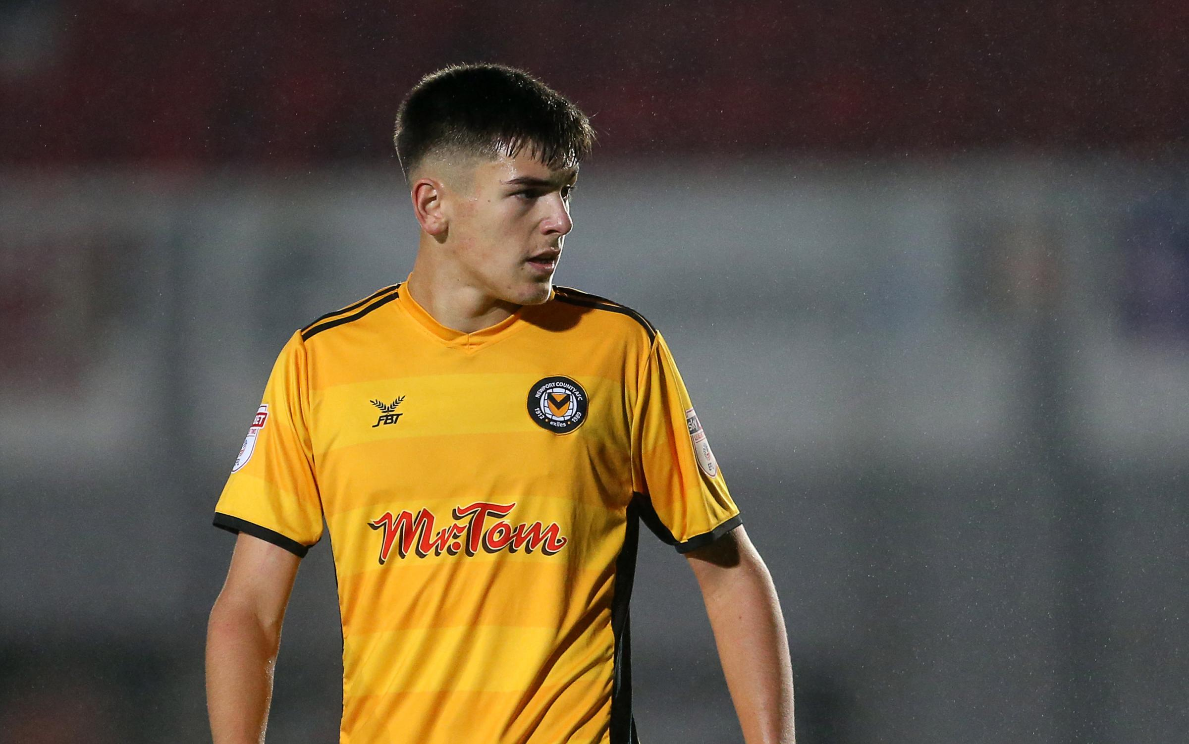 SIGNED: Newport County defender Jay Foulston. Pictures: Huw Evans Agency