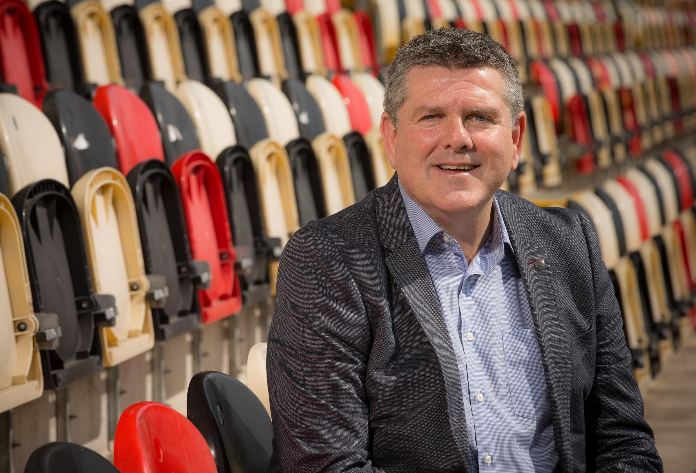 Mike Davies has been appointed managing director of the Dragons