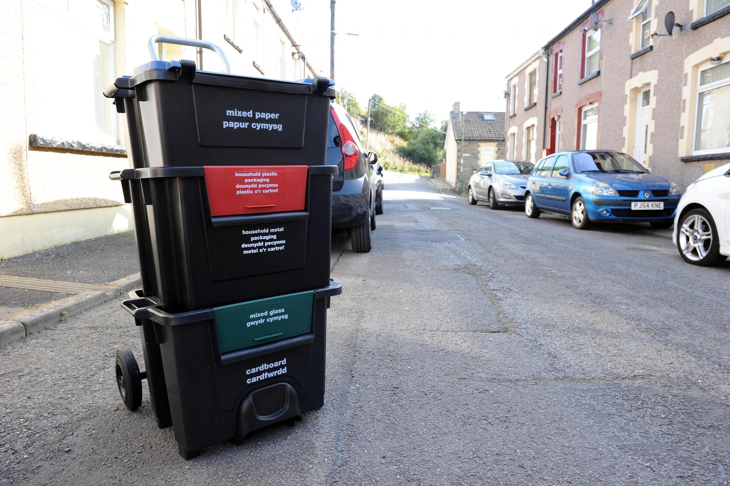 RUBBISH: Residents in Blaenau Gwent could be slapped with £100 fines for not recycling. The plans divided opinion on the Argus website.