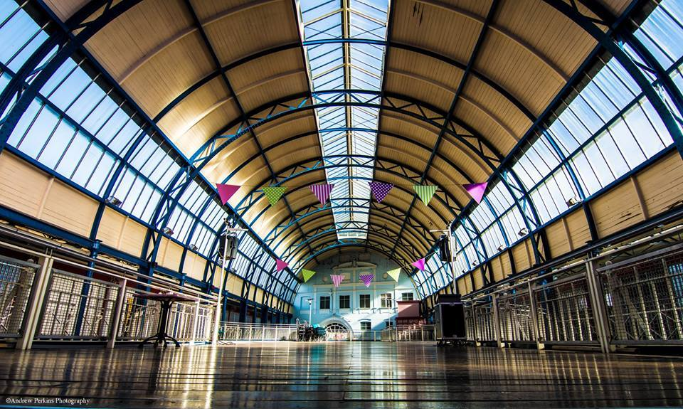MARKET: The top floor at Newport Market Picture: Andrew Perkins?