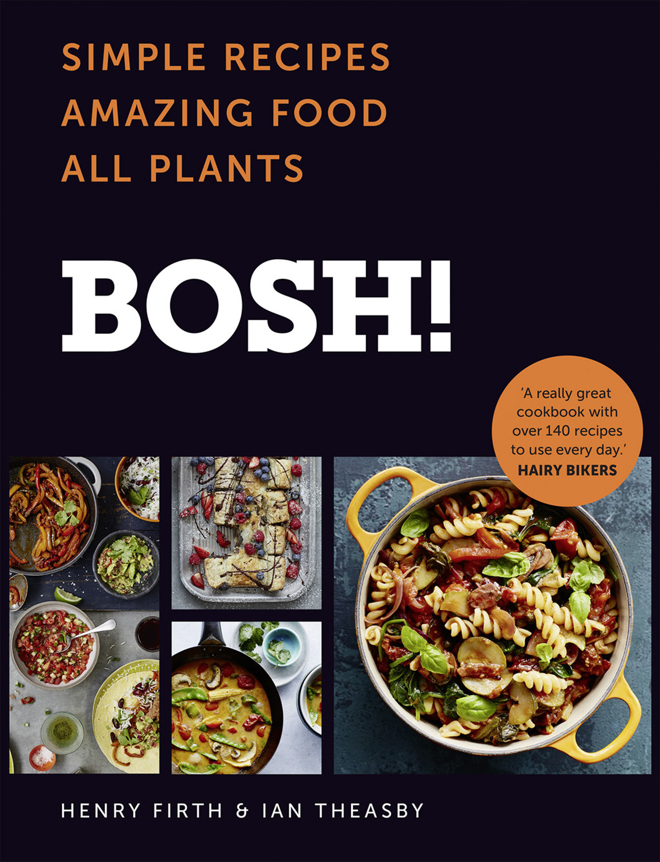 Undated Handout Photo of the BOSH! cookbook by Ian Theasby and Henry Firth. See PA Feature FOOD Bosh. Picture credit should read: PA Photo/Lizzie Mayson. WARNING: This picture must only be used to accompany PA Feature FOOD Bosh.