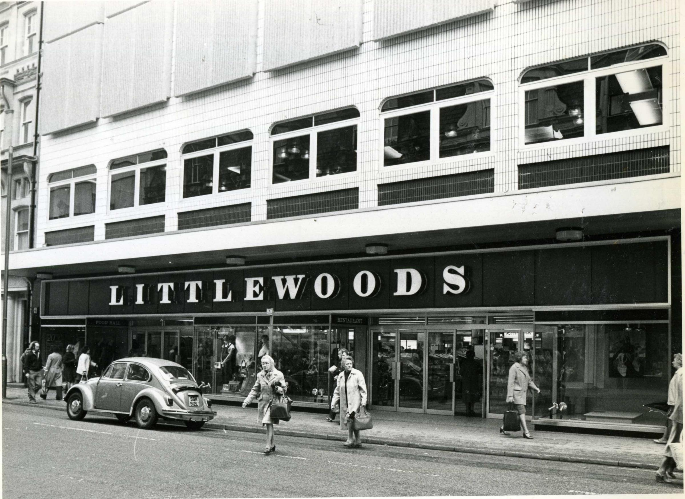 Littlewoods Store on Commercial Street, Newport, in 1980