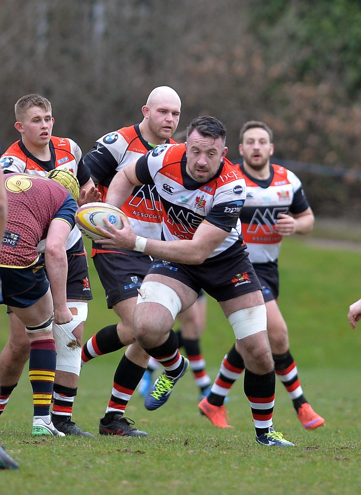 Pontypool's Brendan Lampitt was among the try scorers in Saturday's win at Narberth which sealed Pooler's amazing unbeaten league campaign. File picture: www.christinsleyphotography.co.uk