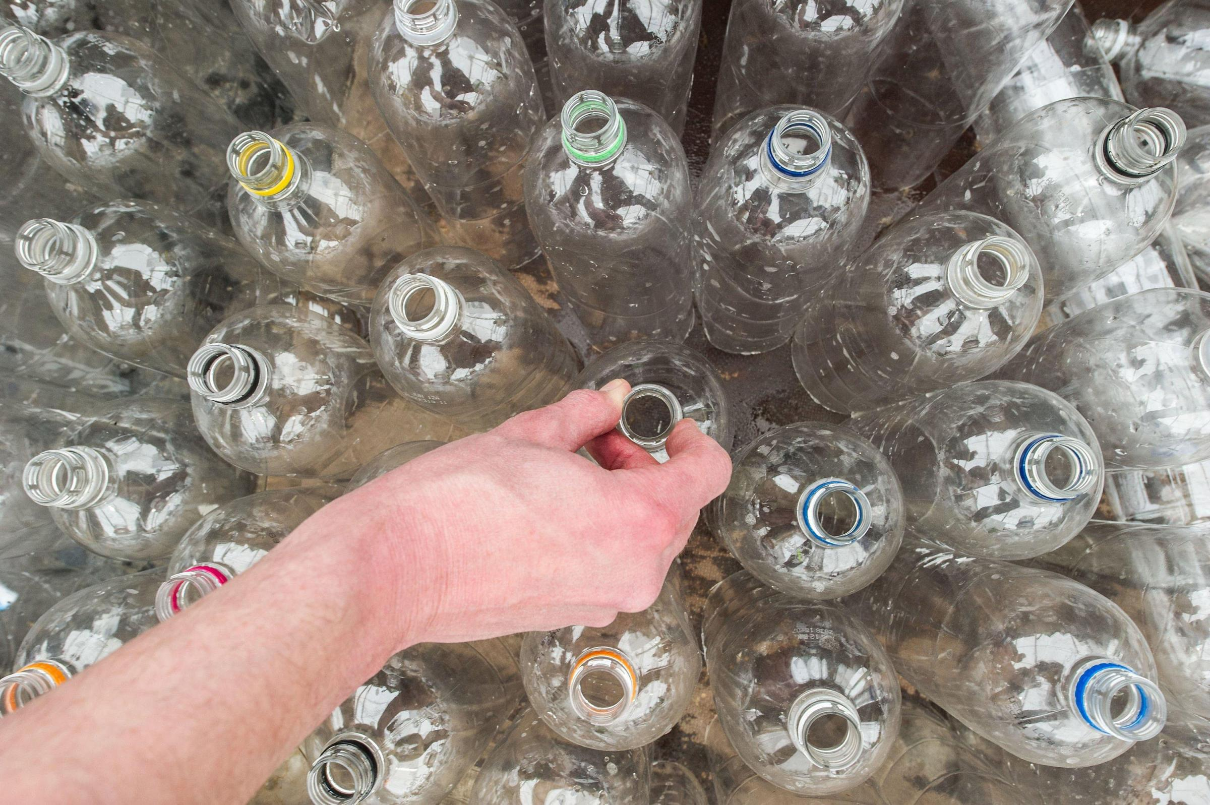 File photo dated 27/04/13 of plastic bottles. Dozens of companies have signed up to efforts to eliminate unnecessary single-use plastic packaging by 2025, it has been announced. PRESS ASSOCIATION Photo. Issue date: Thursday April 26, 2018. Under the &quot