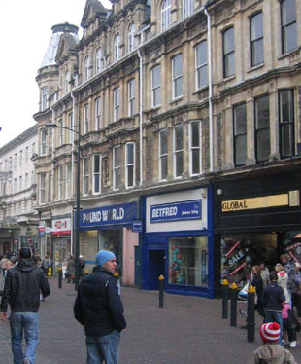 CITY CENTRE: Newport West includes the city's main shopping streets