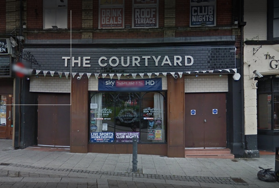 The Courtyard on Cambrian Road in Newport