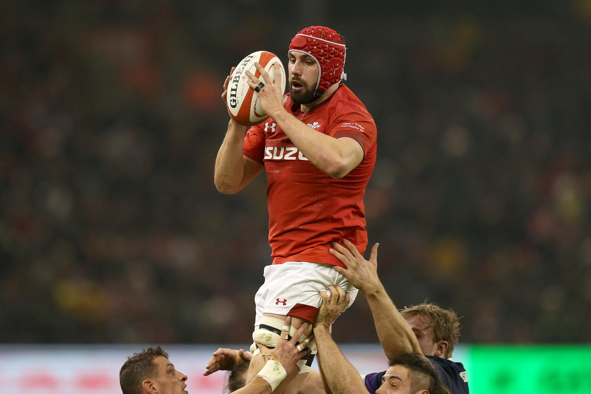 RECALLED: Cory Hill is in the Wales XV to face England