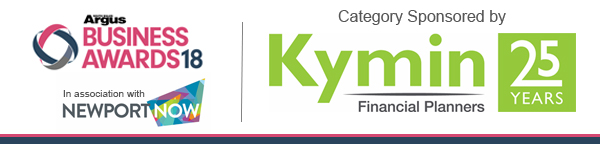 South Wales Argus: South Wales Argus Business Awards 2018 - Small  Business of the Year Category sponsor: Kymin Financial Planners