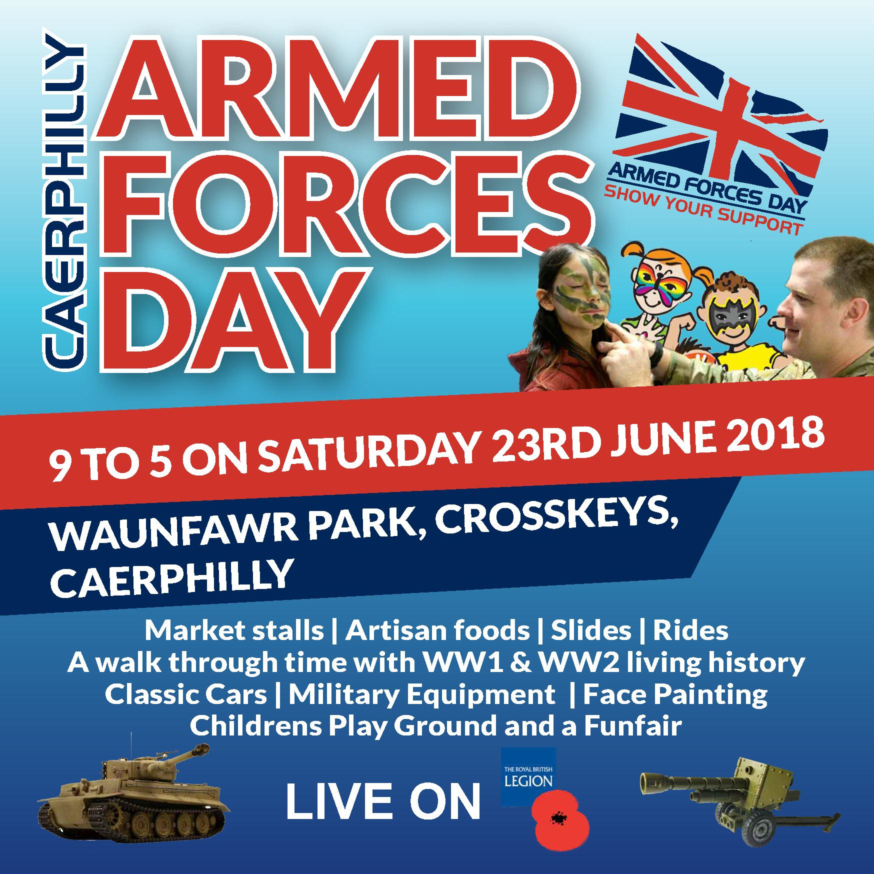ARMED FORCES 'A DAY TO REMEMBER'