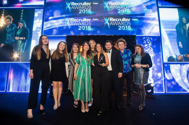 Leading marketing team takes home the trophy at national recruitment awards