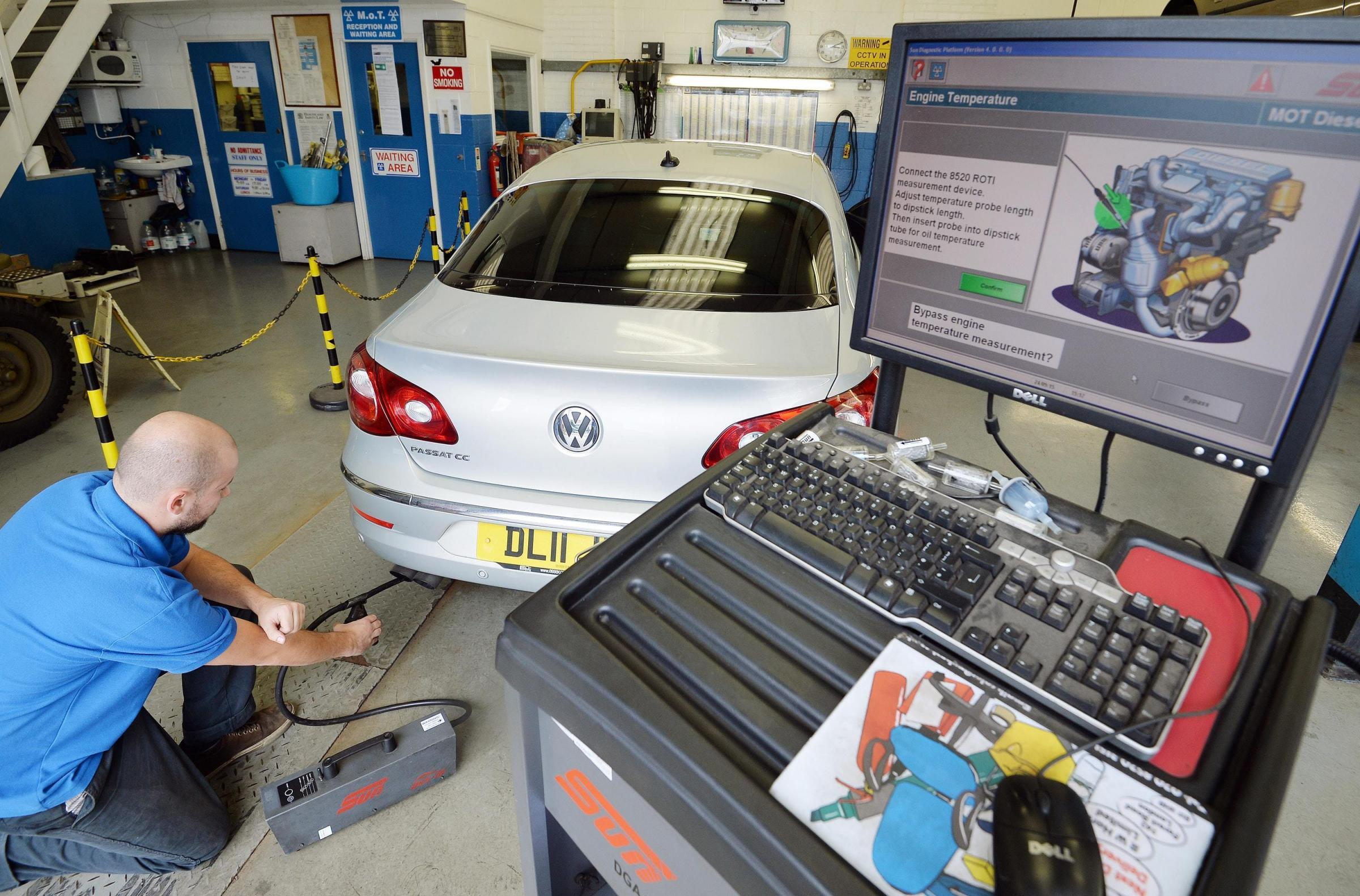 A tougher and updated MOT has come into force in Britain today