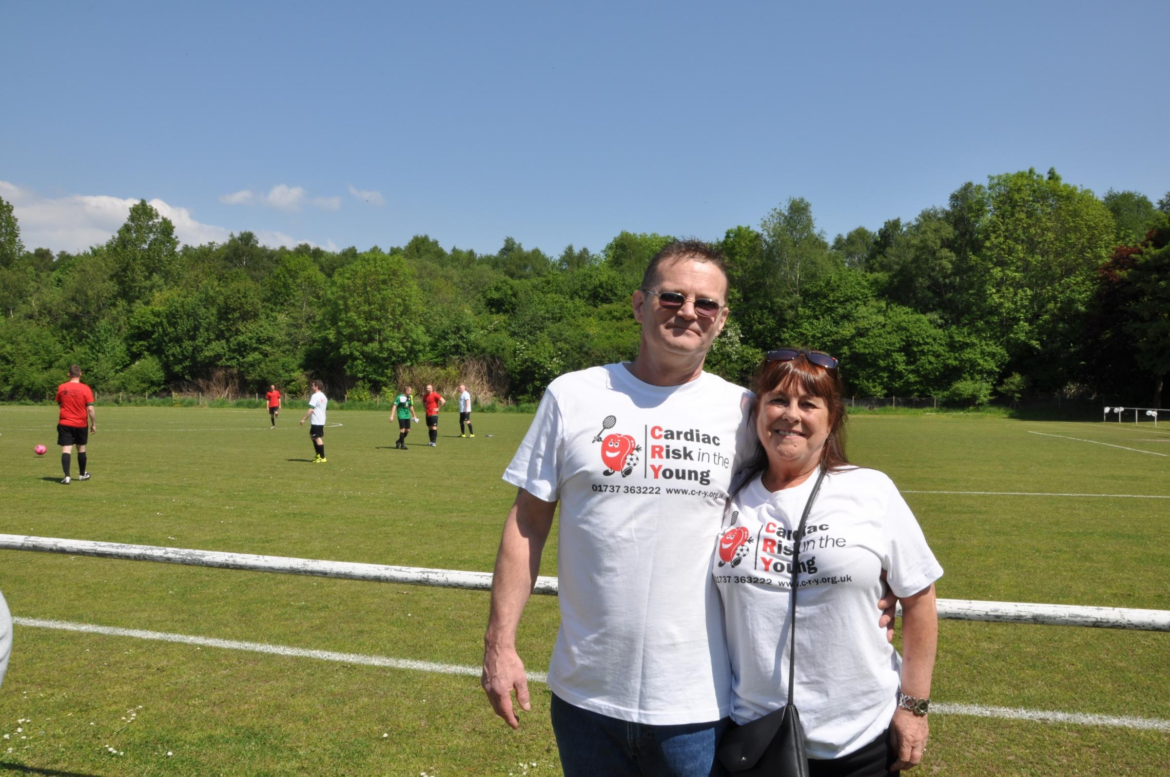 Charity football match held in memory of former Rogerstone AFC player Craig 'Dowie' Cowland. Picture: Georgia Johnston