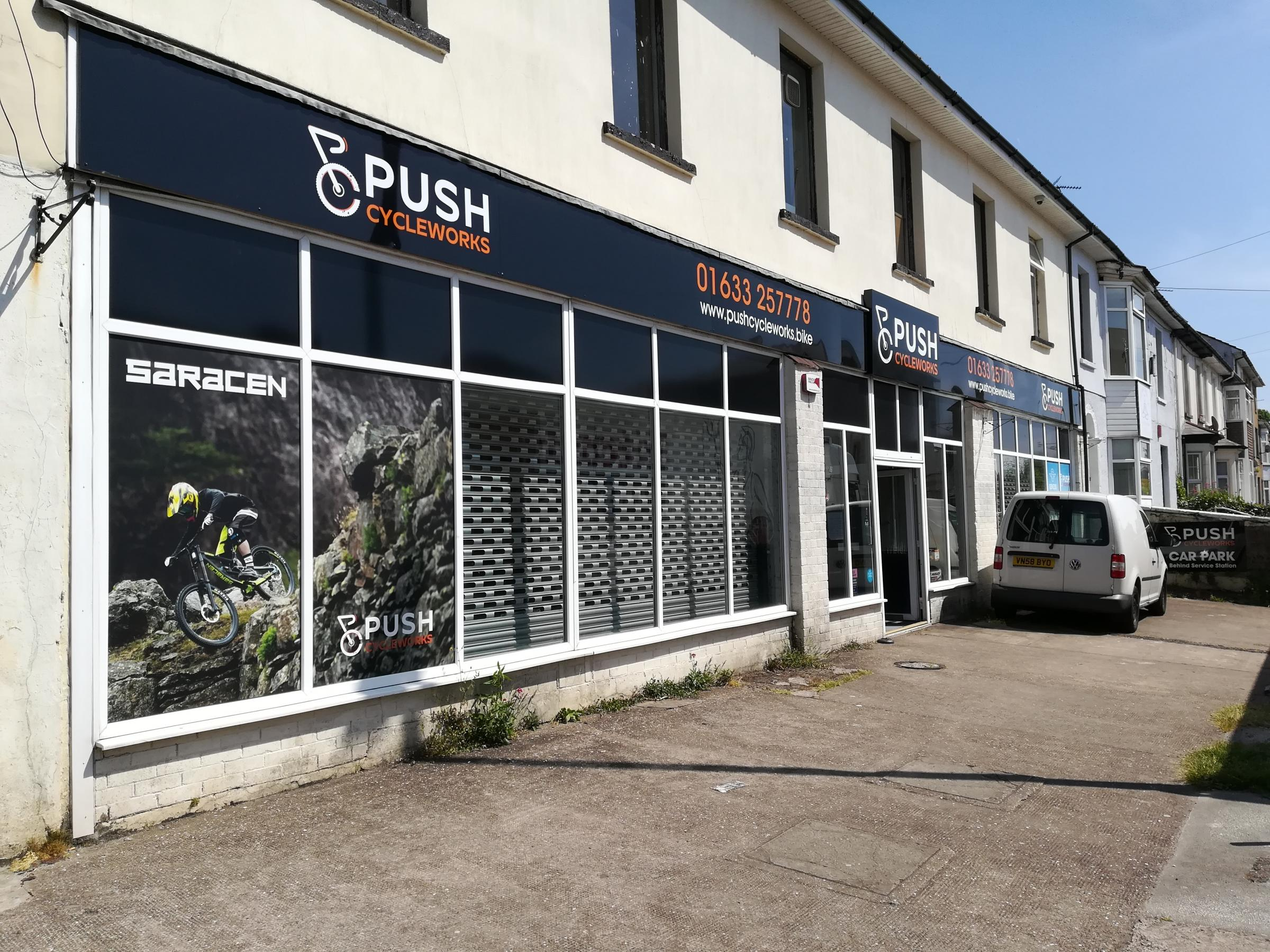 Push Cycle Works on Stow Hill