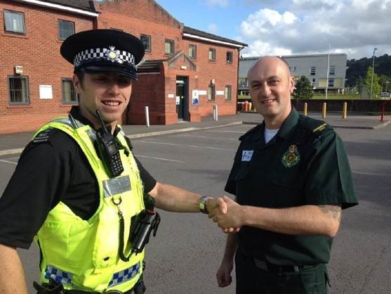 The Joint Response Unit is a partnership between the Welsh Ambulance Service and Gwent Police