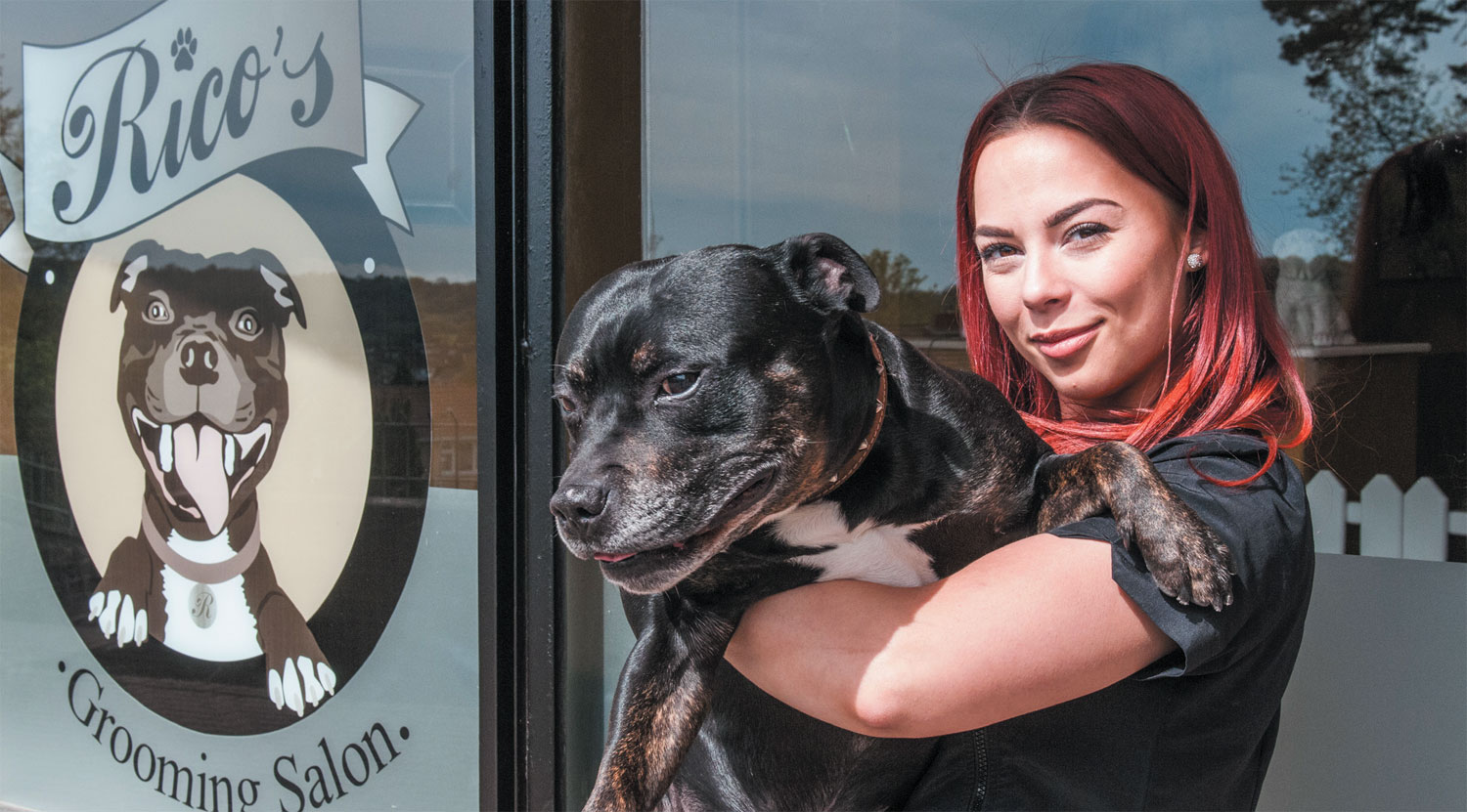 Rico's Grooming Salon is June's business of the month