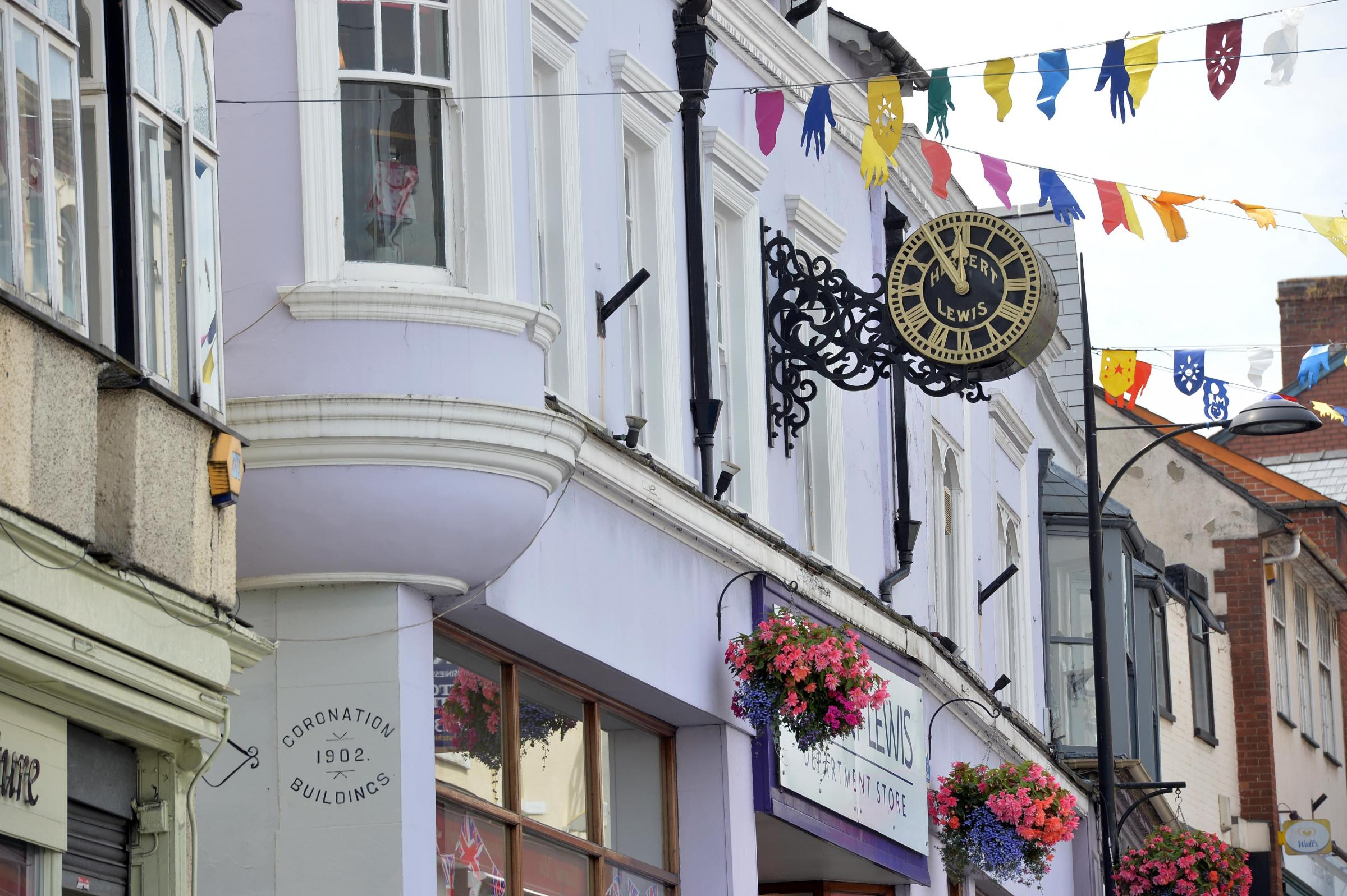 Picture of the day. The Herbert Lewis clock in Chepstow.  .www.christinsleyphotography.co.uk.