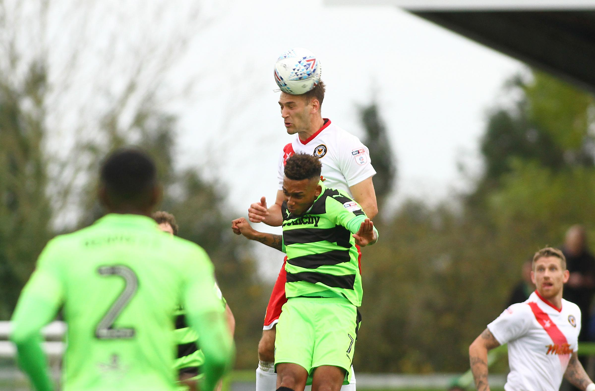 SIGNED: Former Forest Green Rovers winger Keanu Marsh-Brown has joined Newport County