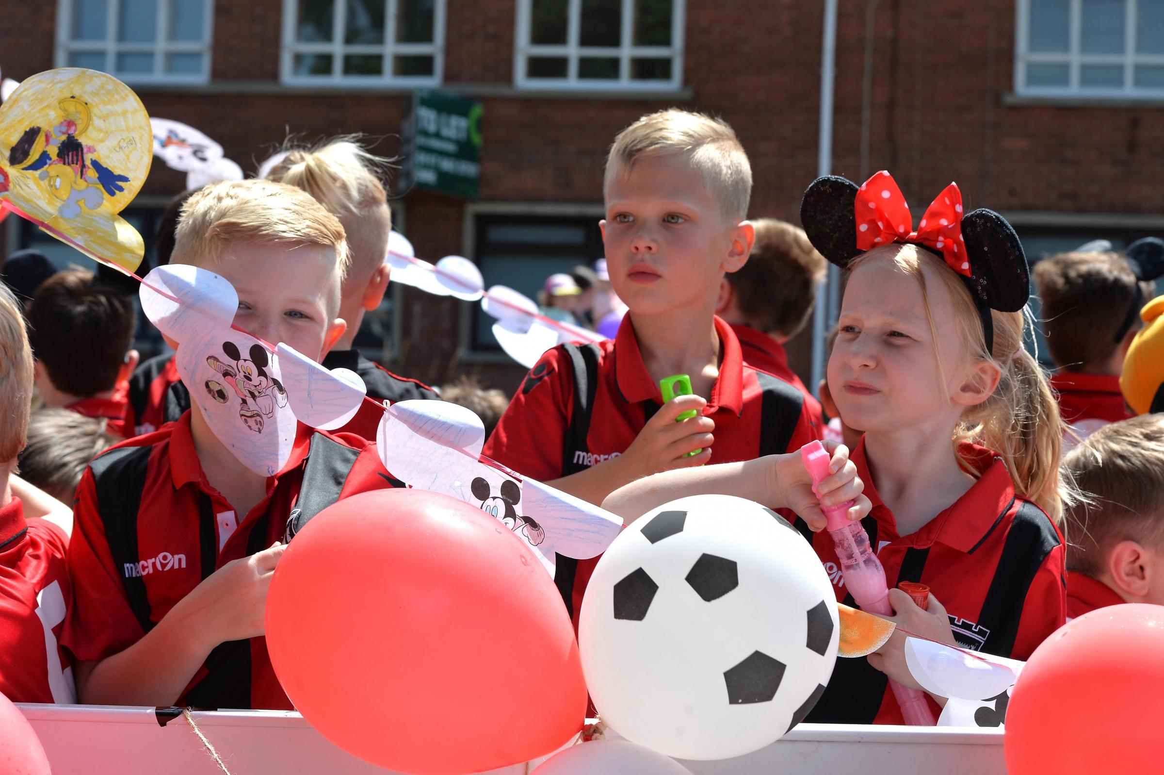 Caldicot town carnival prizes