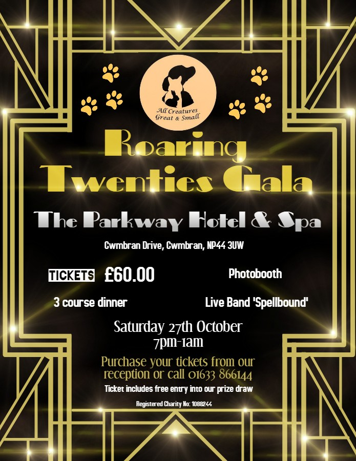 All Creatures Great & Small Roaring Twenties Gala 2018