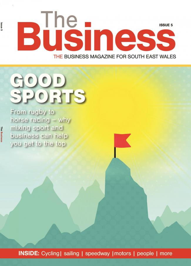 THE BUSINESS: Welcome to issue 5 - our sports edition