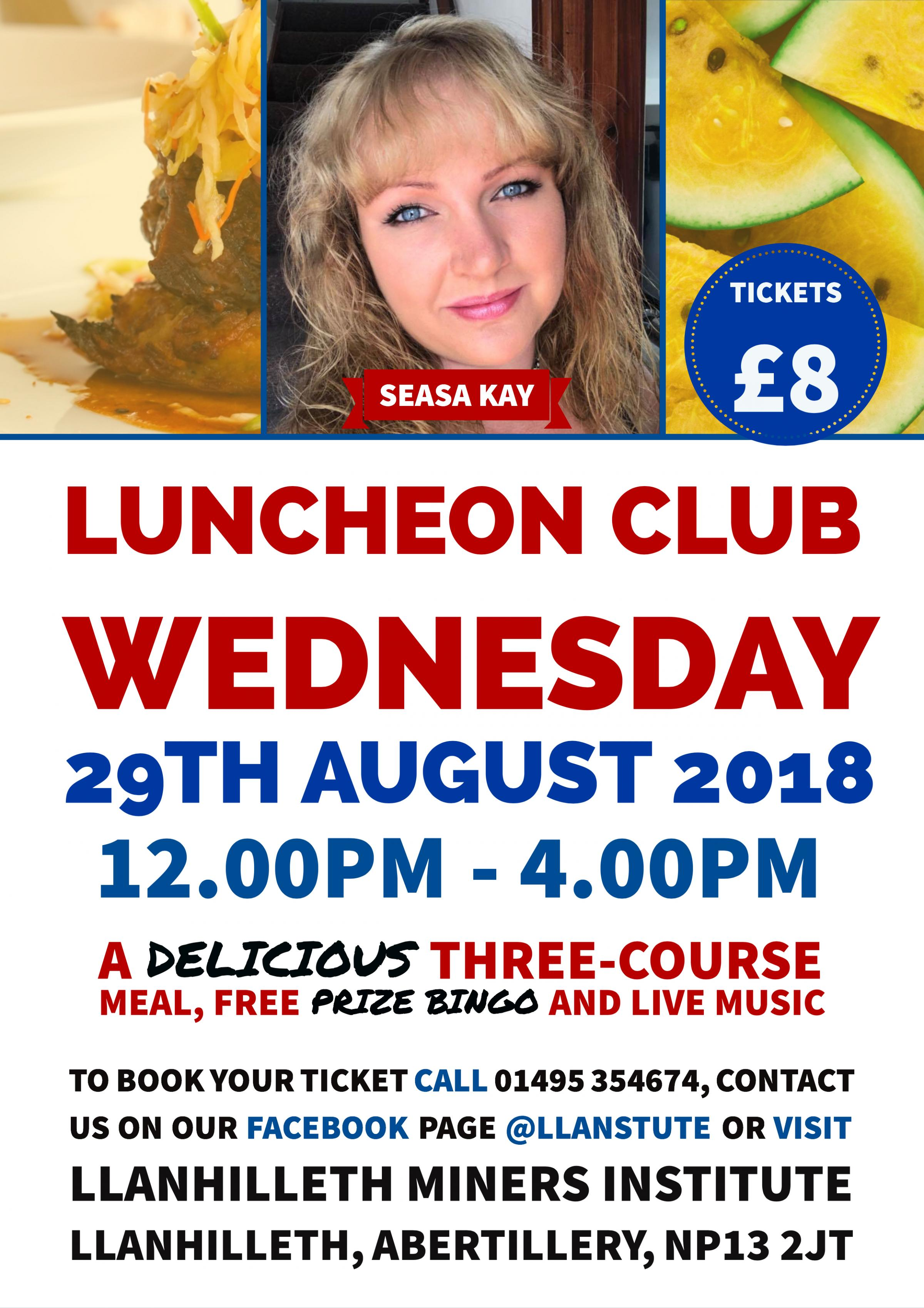 August Luncheon Club