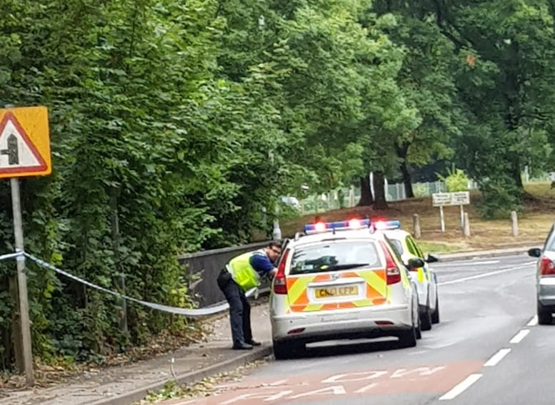 Police cordon off area near bridge as part of 'ongoing police investigation'