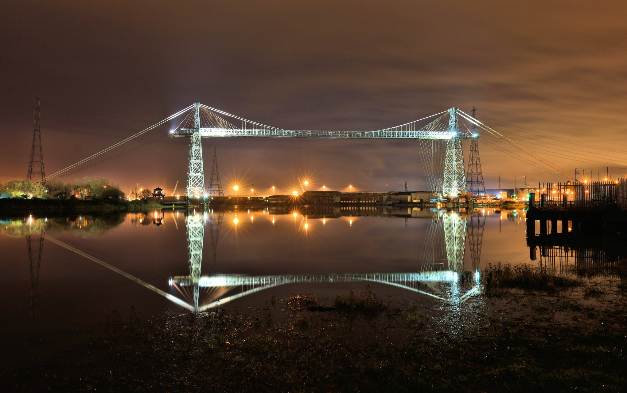 Tin Shed Theatre's production of Moby Dick will be performed on Newport Transporter Bridge Picture: Stephen Pocock
