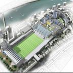 South Wales Argus: IMPRESSION: How the regenerated Rodney Parade could look