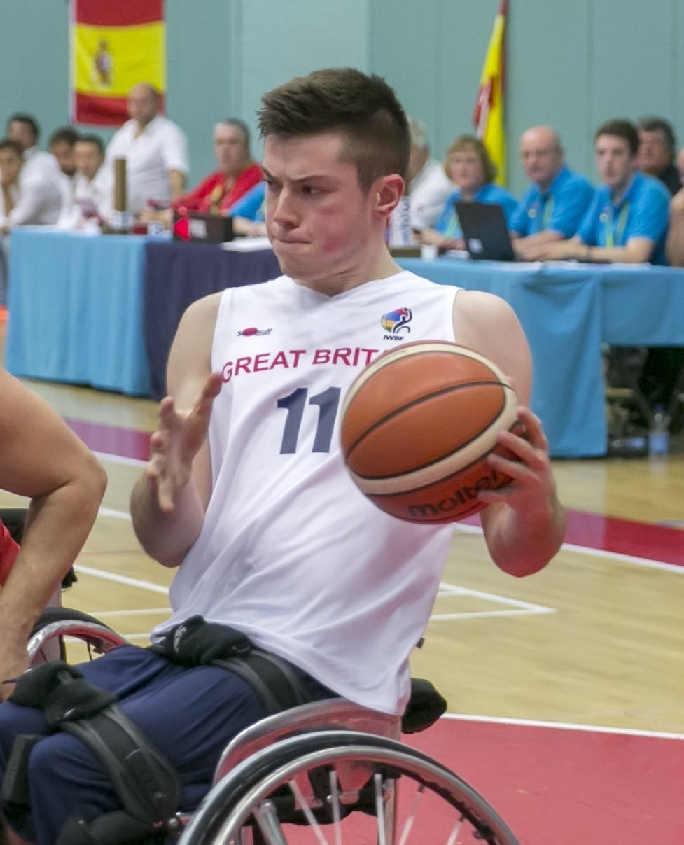 GB men's wheelchair basketball captain Phil Pratt