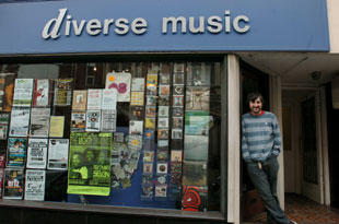 CELEBRATION: Matt Jarrett of Diverse Records