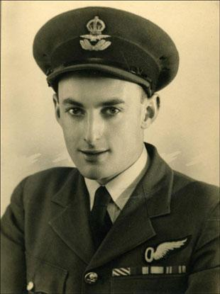 DECORATED: John Horton during his time with the RAF