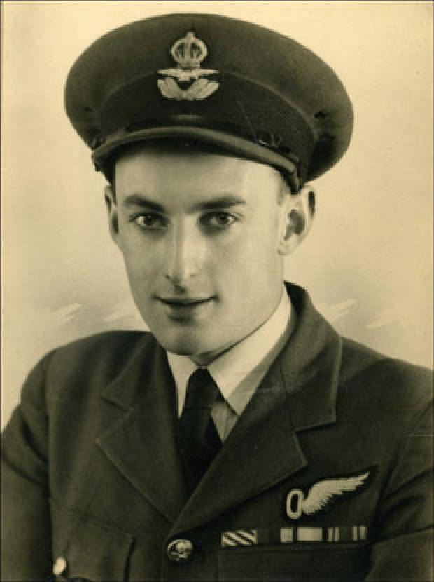 South Wales Argus: DECORATED: John Horton during his time with the RAF