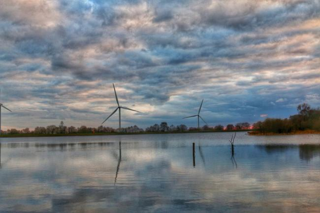 PLANS to site a wind turbine near the Pen-y-Fan Country Park in Caerphilly have been thrown out over concerns about its visual impact.