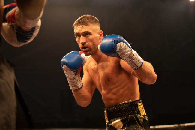 BIG NIGHT: Newport's Dan Barton looks set for his first pro title fight. Pic: www.liamhartery.com