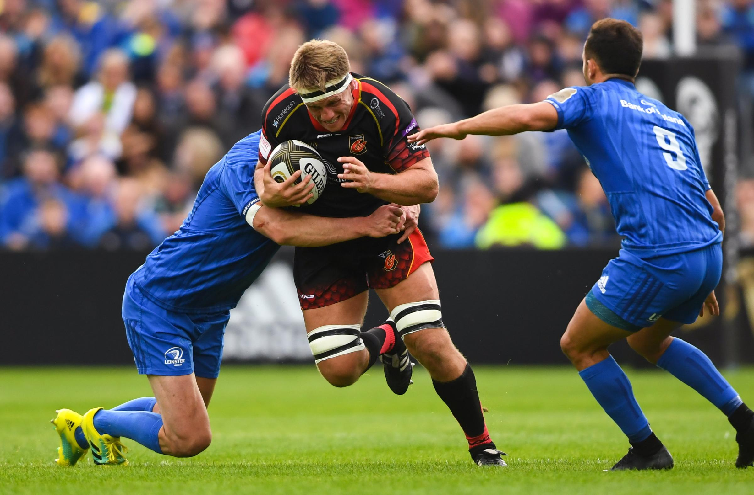 TOUGH TEST: Dragons flanker Nic Cudd won't be complacent against Timisoara Saracens