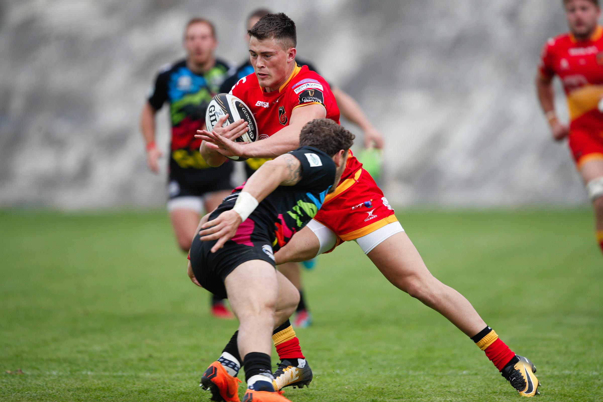 WELCOME RETURN: Dragons wing Jared Rosser is back in the side to face Zebre