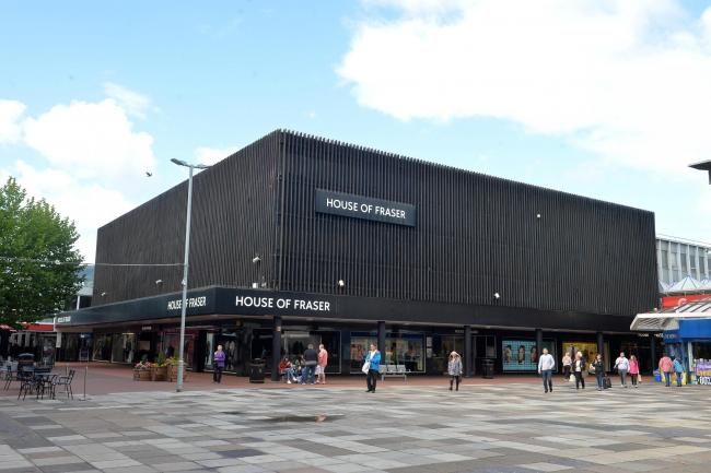 Three House Of Fraser Stores Face Closure But Future Of Cwmbran
