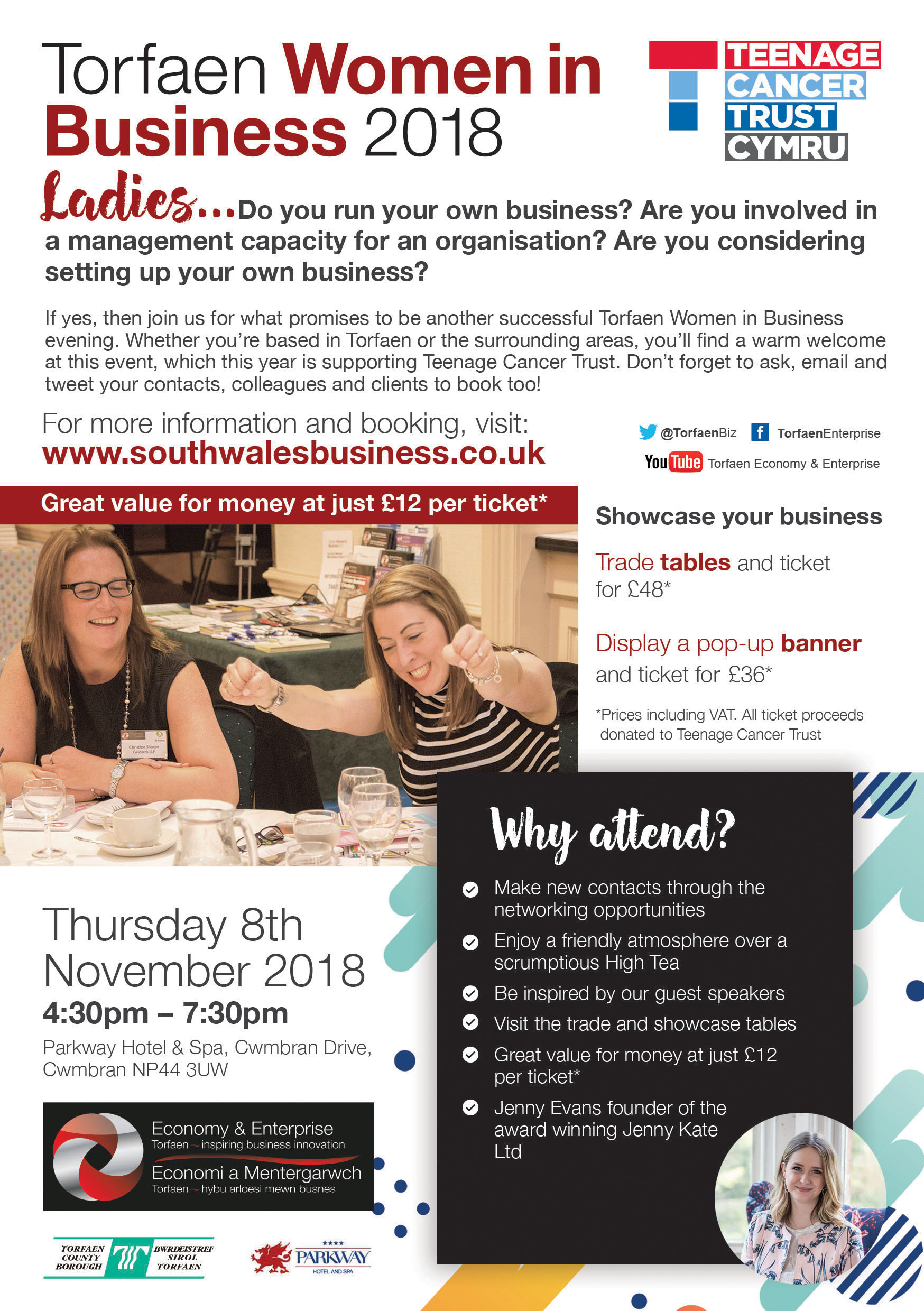 Torfaen Women in Business 2018