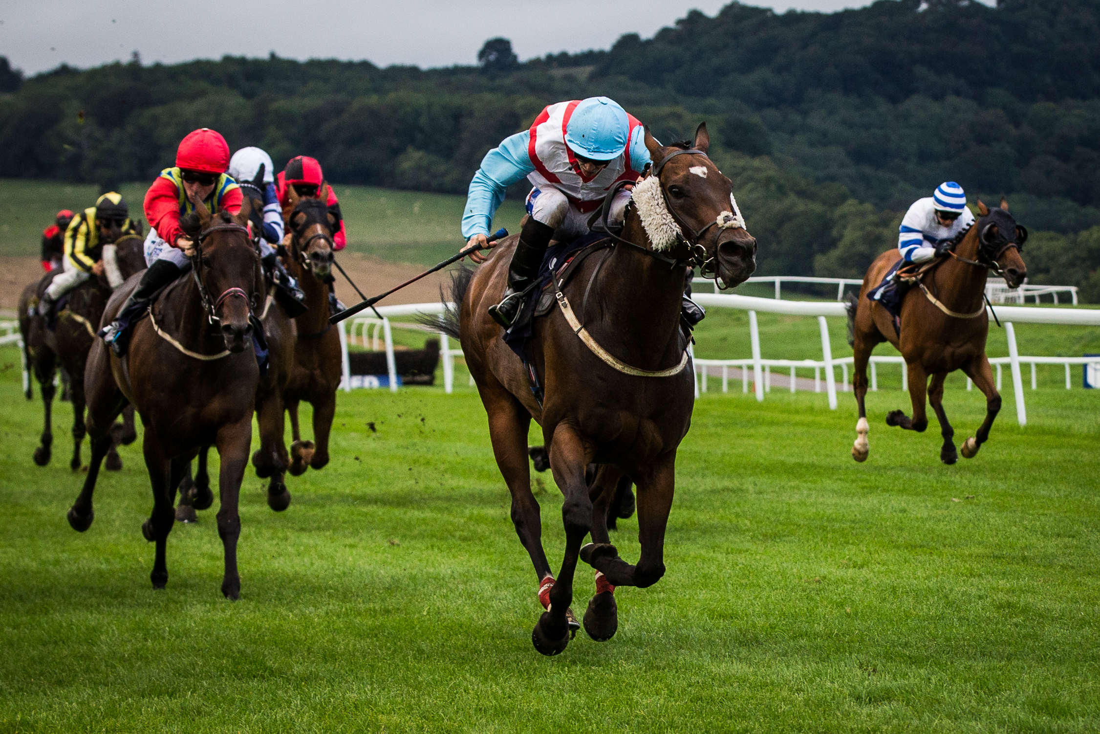 Fantasy Justifier winning at Chepstow in August
