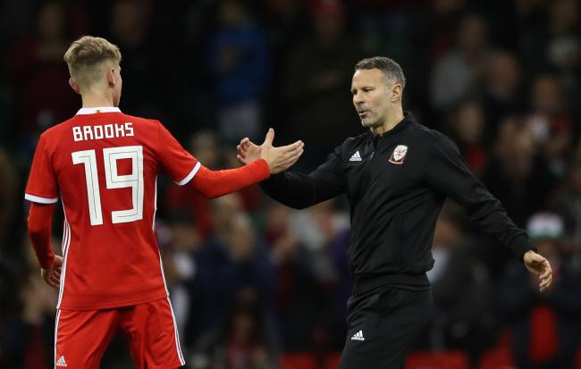FAITH: Wales boss Ryan Giggs, right, will be hoping youngsters like David Brooks can shine against the Republic of Ireland tonight