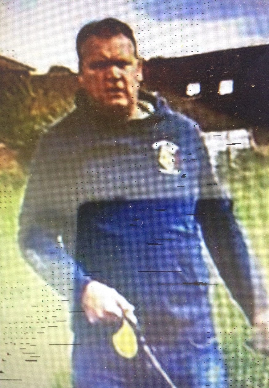 Police want to speak to this man following a report of an assault in Caerleon