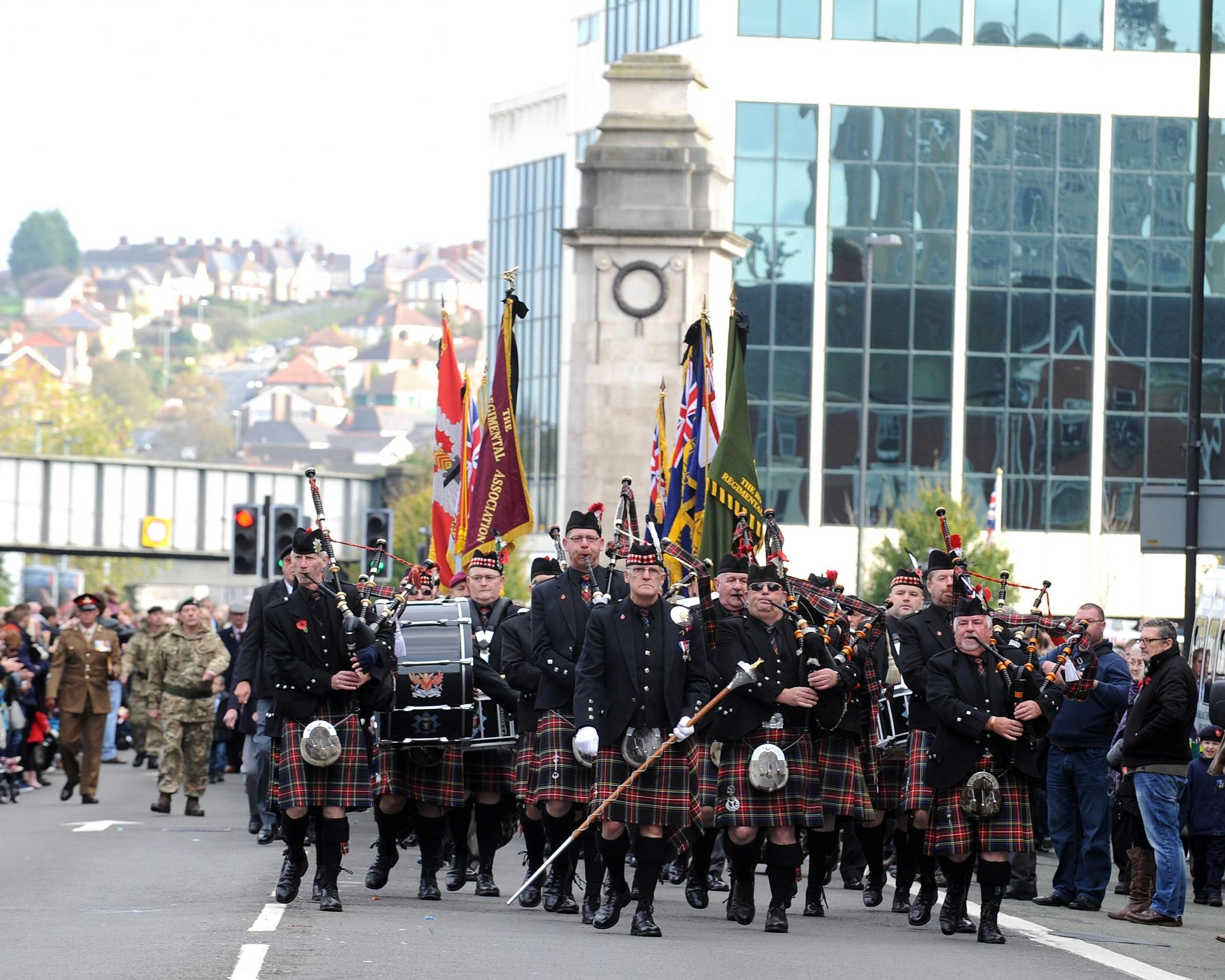 Details revealed for Newport's Remembrance Day parade and service. Picture: www.christinsleyphotography.co.uk