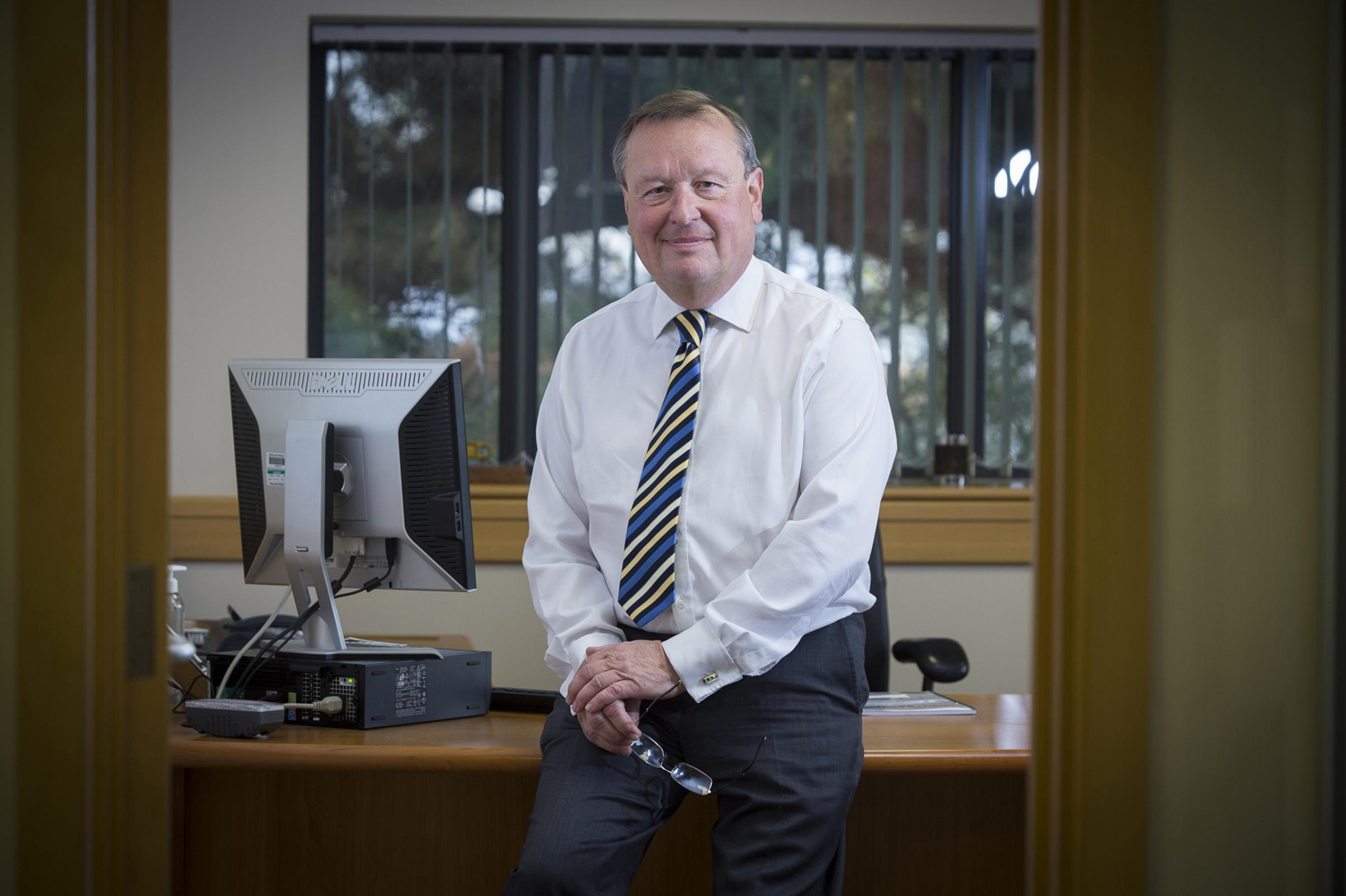 Robert Symons, Western Power Distribution's chief executive, who has died following a battle with cancer