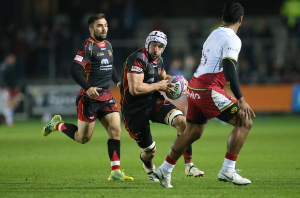 South Wales Argus: TALISMAN: The Dragons will be without Ollie Griffiths
