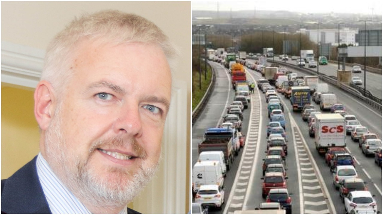 Carwyn Jones on the M4 relief road