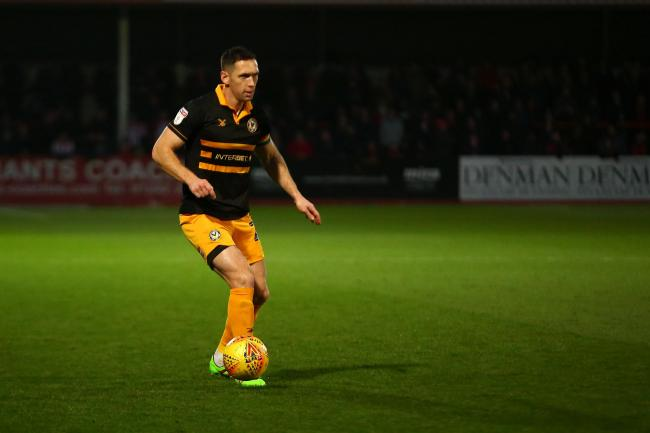 LEADER: Newport County club captain Andrew Crofts